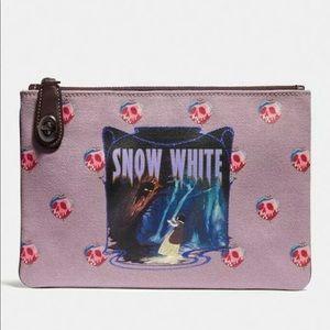 Disney X Coach Snow White Turnlock Pouch